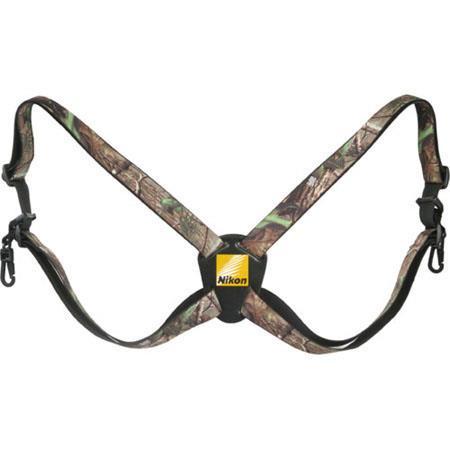 Nikon Binocular Harness, RealTree Camo 6122