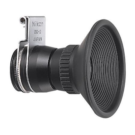 Nikon DG-2 2x Eyepiece Magnifier for Df, D3X, D90, D300S, D700, D3000,  D3100, D3200, D3300, D5200, D5300, D600, D610, D7000, D7100, D800, D90
