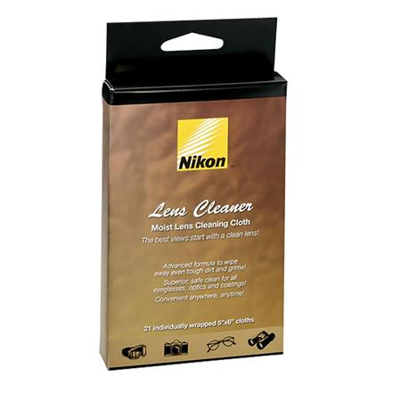 Nikon Moist Lens Cleaner Cloths: Picture 1 regular