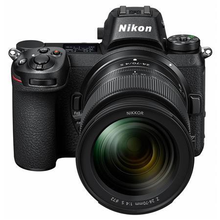 Z6 FX-Format Mirrorless Camera with NIKKOR Z 24-70mm f/4 S Lens