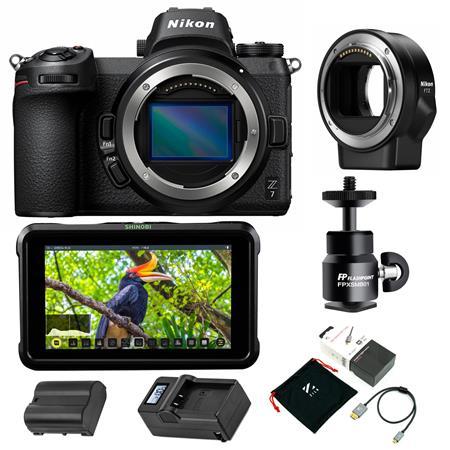 Nikon Z7 FX-Format Mirrorless Camera Body/Nikon Mount Adapter FTZ ...