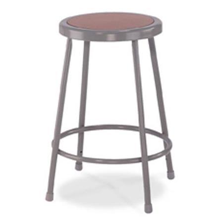 Super National Public Seating 6200 Series 24 Heavy Duty Steel Stool Masonite Wood Seat Gray Frame Ibusinesslaw Wood Chair Design Ideas Ibusinesslaworg