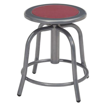 Fine National Public Seating 6800 Series 18 24 Height Adjustable Designer Stool Burgundy Seat Gray Frame Ocoug Best Dining Table And Chair Ideas Images Ocougorg