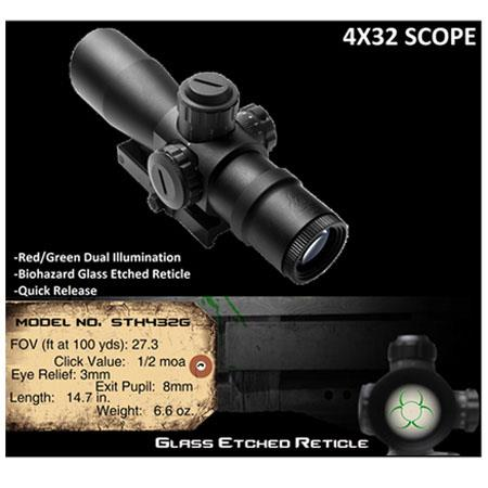 NcSTAR 4x32 Rifle Scope: Picture 1 regular