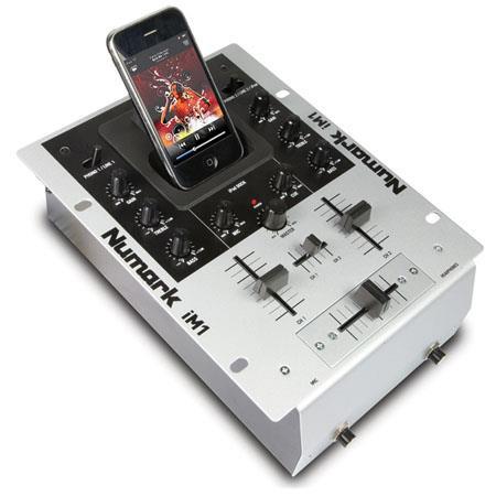 Numark iM1 2 Channel DJ Mixer with iPod Dock