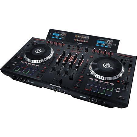 Numark NS7 III 4-Channel Motorized DJ Controller & Mixer with Multi-Screen  Display