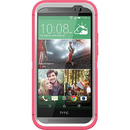 official photos 79150 951b9 Otterbox Defender Case for HTC One M8 - Neon Rose 77-39131 - Adorama