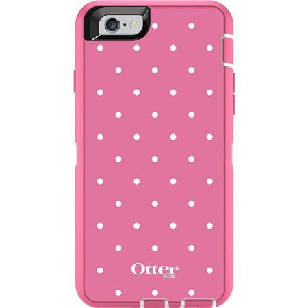 super popular c2f93 a2a97 OtterBox Defender Series Graphics Case for iPhone 6/6s, Candied Dots