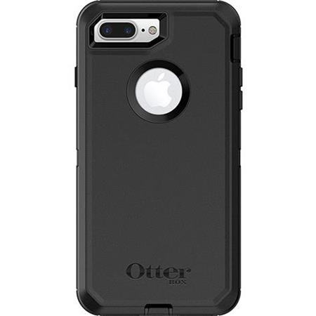 quality design 3d92b 7debd OtterBox Defender Case for iPhone 7 Plus/iPhone 8 Plus - Black