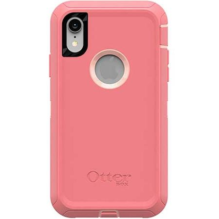 promo code 9ebab c7b22 OtterBox Defender Case for iPhone XR - Pink Lemonade