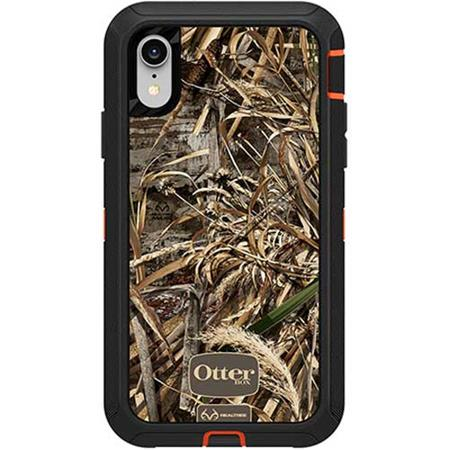 b591f15379c OtterBox Defender Case for iPhone XR - Realtree Max 5 HD Camo 77-59766