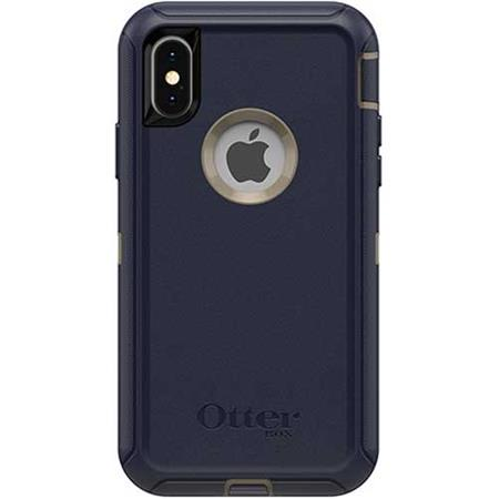 best sneakers 98d92 a03ad OtterBox Defender Case for iPhone X/Xs - Dark Lake Blue