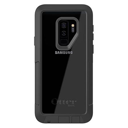 new style 1eed8 95585 OtterBox Pursuit Case for Samsung Galaxy S9 Plus- Black/Clear
