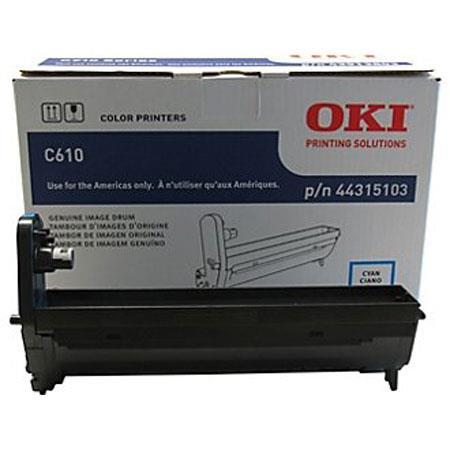 oki data 44315103 cyan image drum for c610 series 44315103 rh adorama com Oki C610 Drum Oki C610 Driver
