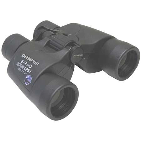 Olympus 8 16x40 Trooper Zoom Dps I Porro Prism Binocular 8 2 Deg Angle Of View 118765