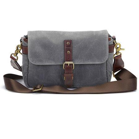 1330cdba4ee ONA The Bowery Camera Bag and Insert, Smoke Leather ONA5-014GR