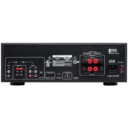 OSD Audio AMP300 350W High Current Class 2 Channel Amplifier
