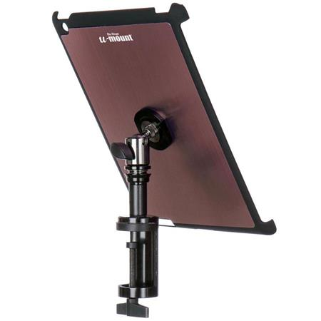 On-Stage TCM9163M iPad Snap-On Cover with Quick Disconnect Table Mount,  Mauve