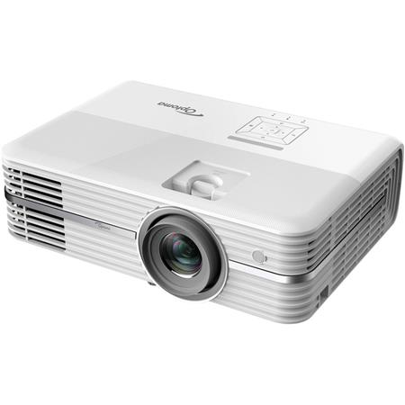 Optoma UHD50 4K Ultra HD Home Theater DLP Projector, 2400 Lumens, White