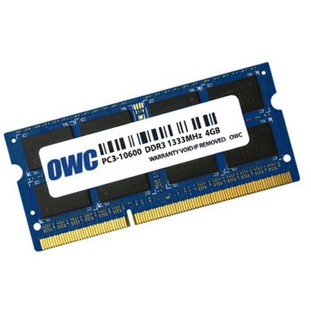 OWC / Other World Computing 4GB 204-pin DDR3 1333MHz (PC10600) SO-