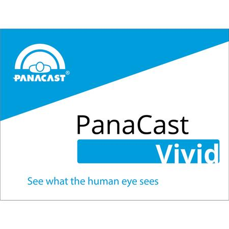 PanaCast Vivid Software License Key for PanaCast 2 Camera, Electronic  Download