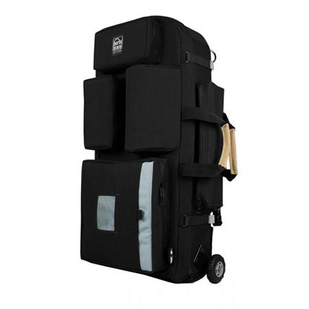 2d6a0dd8e469 Porta Brace Wheeled Rigid-Frame Cordura Backpack for Select Broadcast  Cameras with Accessories