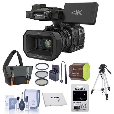 Panasonic HC-X1000 1080p 4K Ultra High Definition Camcorder w/Upgrade Acc  Bundle