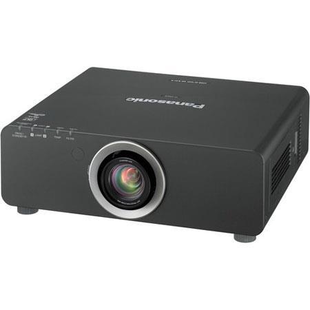 Panasonic PT-DW640UK 1-Chip DLP Projector, Black PT-DW640UK - Adorama