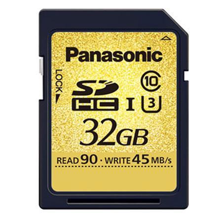 Panasonic Gold 32GB SDHC: Picture 1 regular