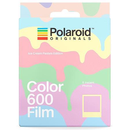 Polaroid Originals Ice Cream Pastels Edition Instant Color Film for i-Type  & Vintage Polaroid 600 Cameras