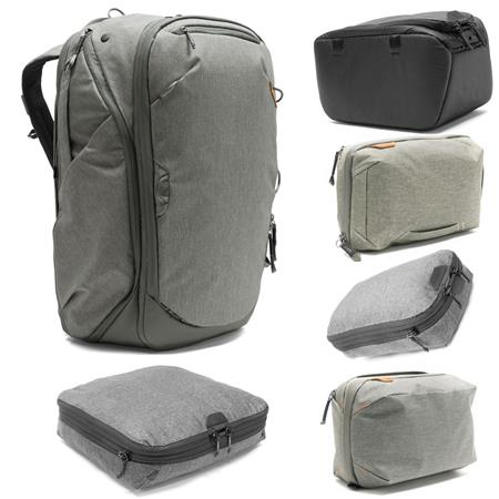 Peak design photo travel bundle with backpack sage and camera cube small  jpg 450x450 45l camera d11b7162dea09
