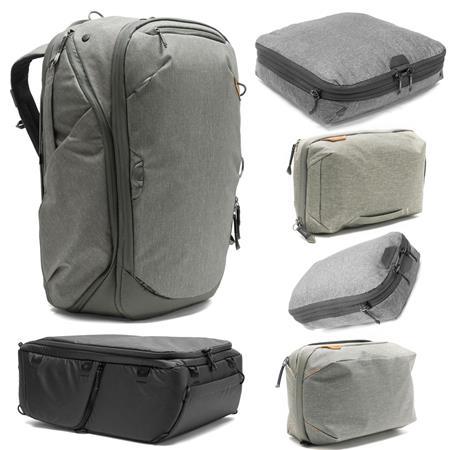 Peak Design Travel 45L Backpack (Sage) With Photo Travel Bundle a9ee8f3d22b5e
