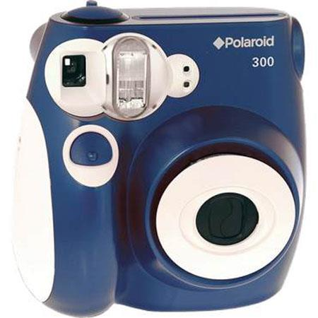 Polaroid Pic 300 Instant Camera, Analog - Blue