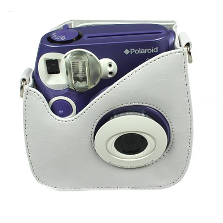 Polaroid Leather Carry Case for Pic-300 Instant Print Camera, White