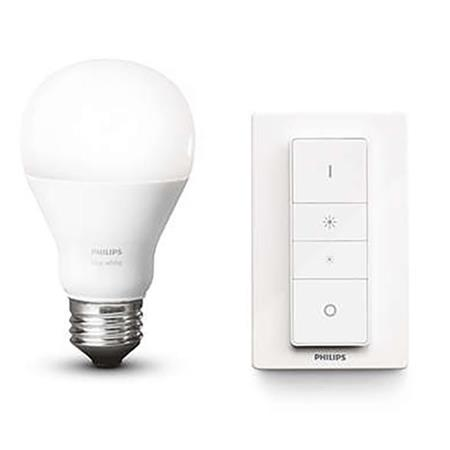 philips hue a19 wireless dimming kit white 455386. Black Bedroom Furniture Sets. Home Design Ideas