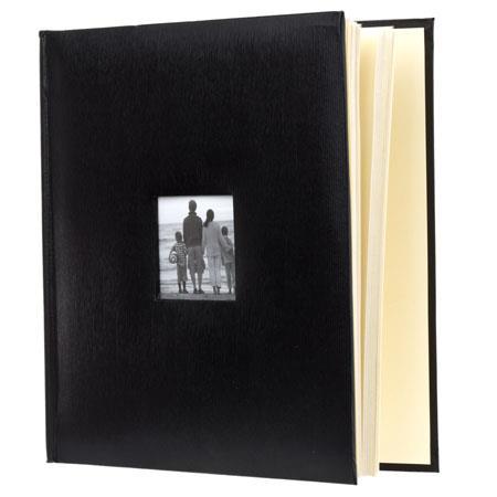 Adorama Photo Albumleatheretteholds 500 4x6 Black 638280