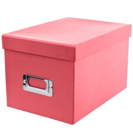 Pioneer Photo Albums Photo Storage Box Bright Red