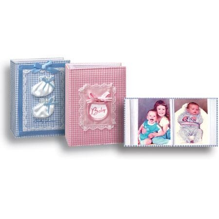 Pioneer Sewn Fabric Baby Collection Bound Mini Max Photo Album