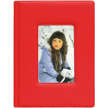 Pioneer Kz46 Red Brag Book Bound Photo Album 4x6 24 Kz46 Red