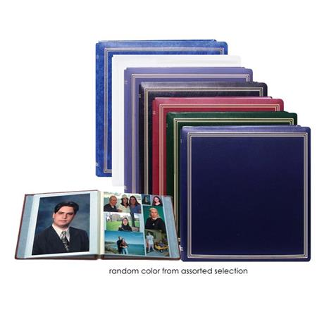 Magnetic Page Photo Album with Solid Color Covers... Pioneer X-Pando Post Bound