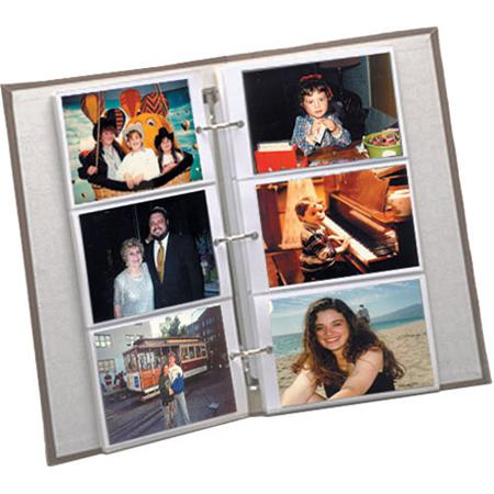 pioneer refill pages for 3 ring photo albums holds 4x6 photos pack of 5 pages