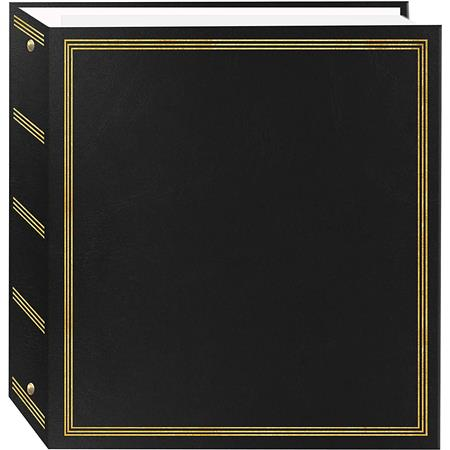 Pioneer Deluxe 3 Ring Album Holds 100 5x7 Photos On Magnetic Pages