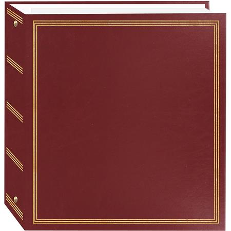 Pioneer Tr100 Burgundy Deluxe 3 Ring Album For 5x7 Tr100 Burgundy