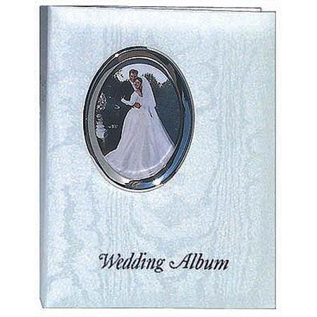 Pioneer Waf 46 Bound Wedding Photo Album Silver Frame Inscribed