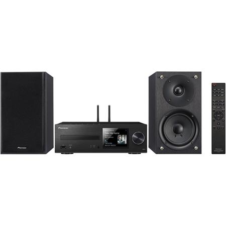 Pioneer Electronics X-HM76 2-Channel 40W Network Wireless All-In-One Mini  Stereo System with Built-In CD Player and AM/FM Tuner, WiFi & Bluetooth