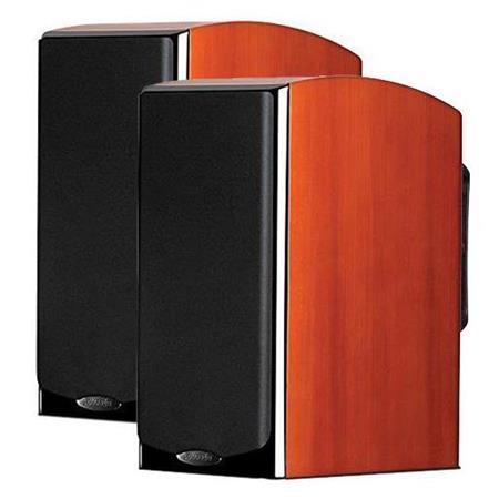 2-Pack Polk Audio LSiM 703 Bookshelf Loudspeaker (Cherry or Black)