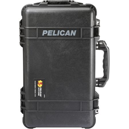Yellow /& Black Pelican 1510 case with Foam.
