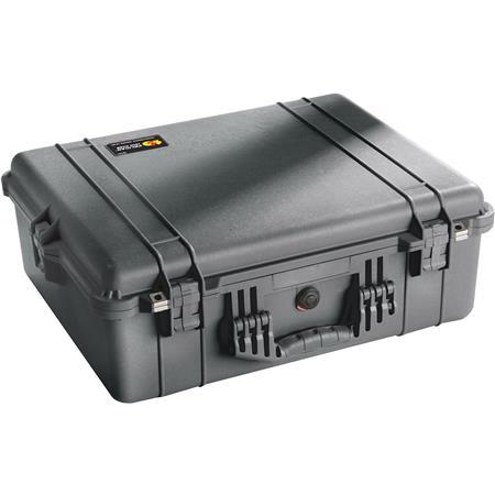 Black Pelican 1600 Waterproof Case with TrekPak Insert