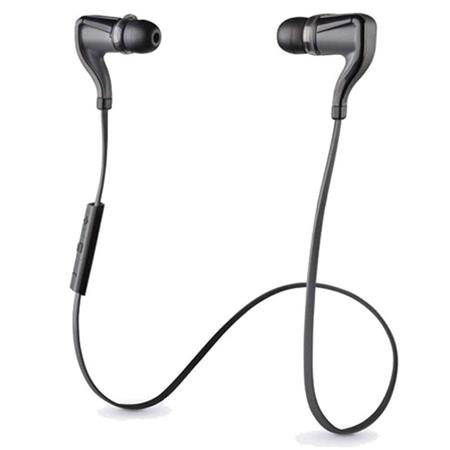 Plantronics Backbeat Go 2 Wireless Earbuds With Portable Charging Case Black 200203 01
