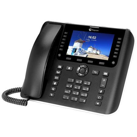 Polycom OBi2182 Gigabit IP Phone with Power Adapter, 12 Line Keys, Built-In  Wi-Fi